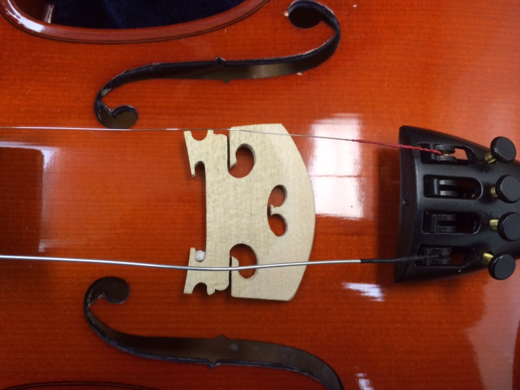 Violin Bridge Positioning