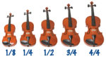 selecting a kid-sized violin for your child